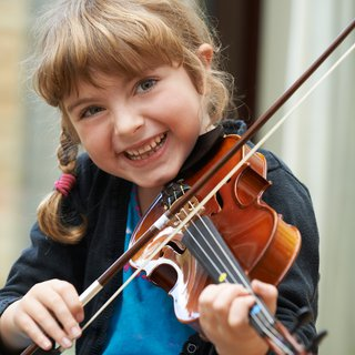 Never too young for violin